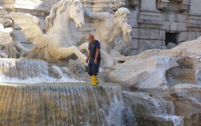 A római szökőkutak története